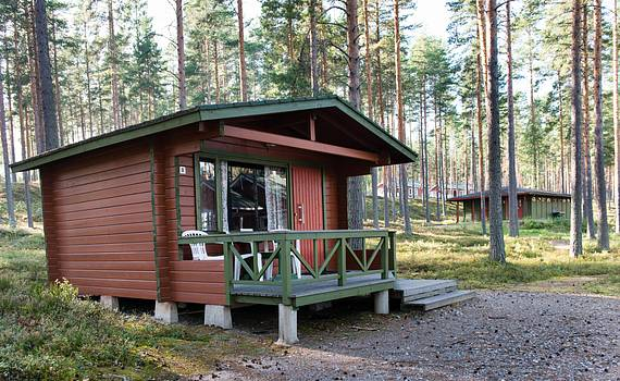 Holiday cabins Nos. 1, 3, 7, 8
