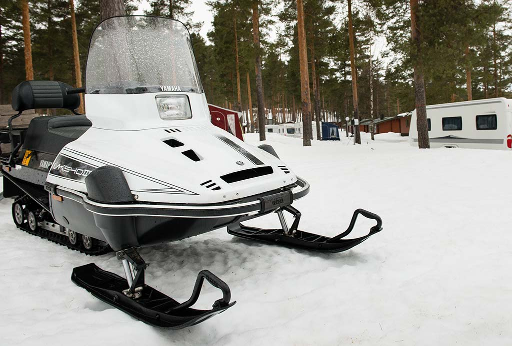 Snowmobile €50 per hour